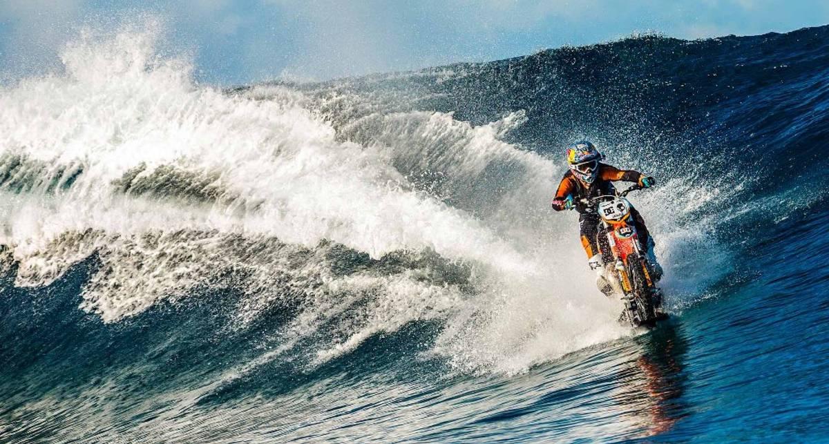 Можно ли перелететь озеро на мотоцикле