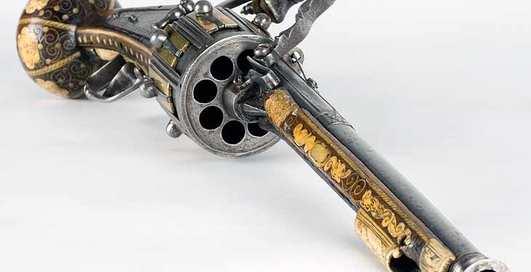 Как выглядит прадедушка всех револьверов в мире