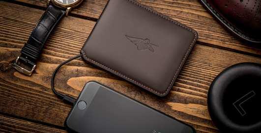 Volterman: умный кошелек с GPS, зарядкой и Wi-Fi