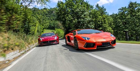 Супер-броня: Ferrari и Lamborghini теперь пуленепробиваемые