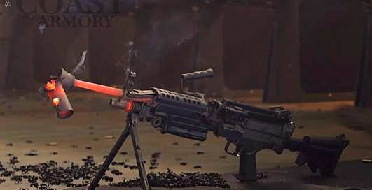 Жареный металл: как скоро умрет глушитель при стрельбе из пулемета