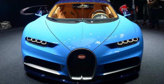Обжора Bugatti Chiron: сколько топлива ест гиперкар