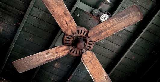 Может ли потолочный вентилятор обезглавить человека