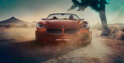 Concept Z4: шикарный родстер в честь дня любителей BMW