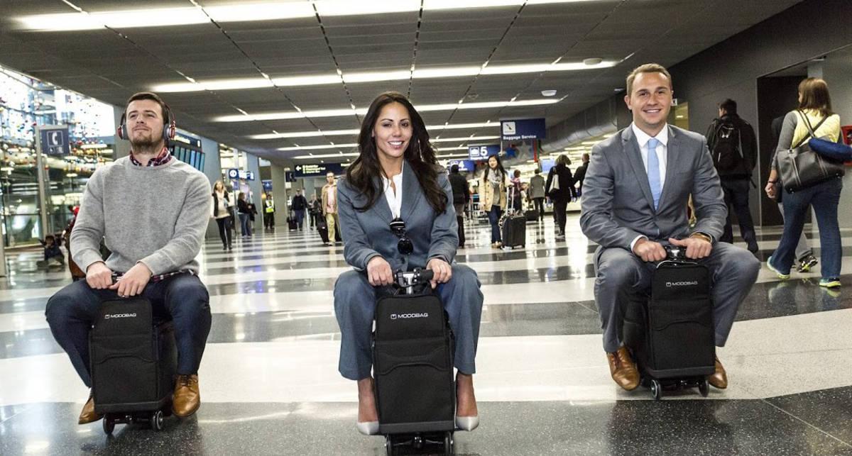 5 смарт-чемоданов для стильных и бизнесменов