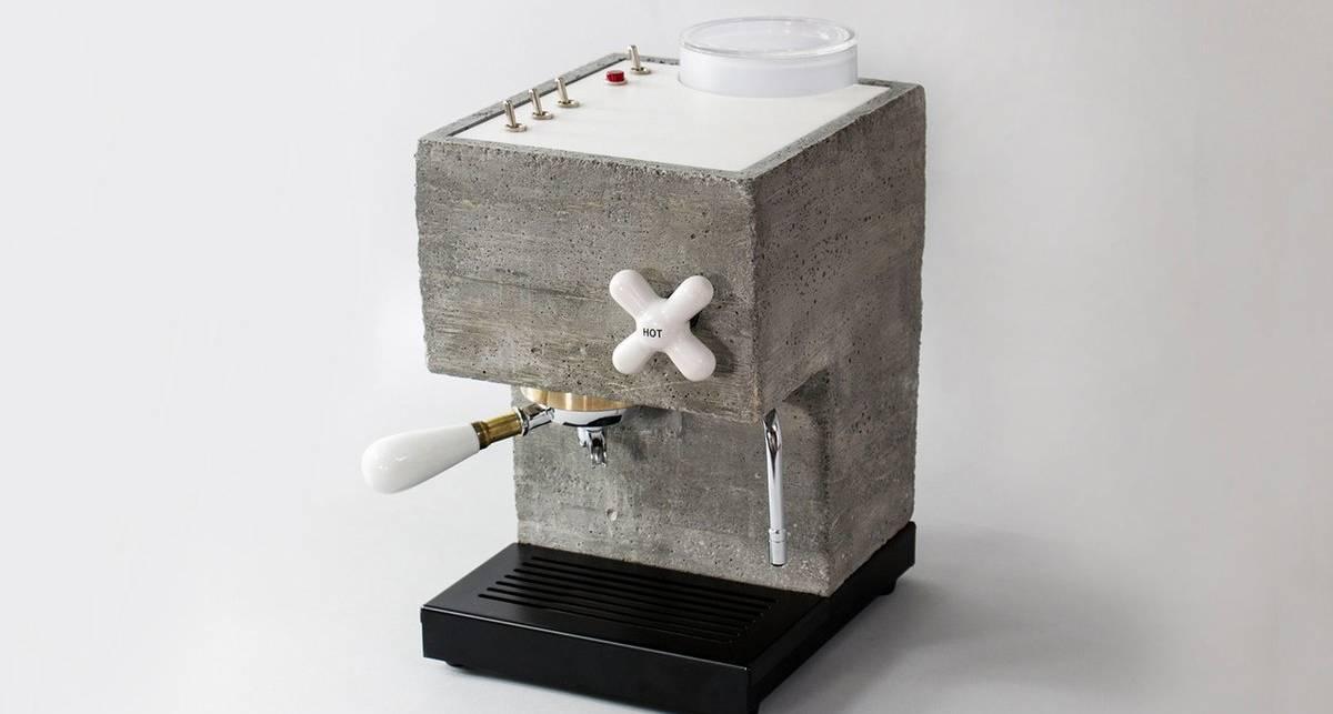 Бодрящий бетон: американцы создали кофемашину из стройматериалов