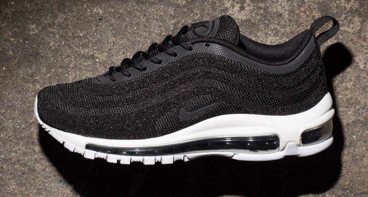 Nike Air Max 97 LX Swarovski Edition: бриллиантовые кроссовки за $1000