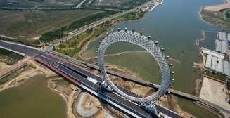 4600 тонн стали: самое уникальное чертово колесо в мире