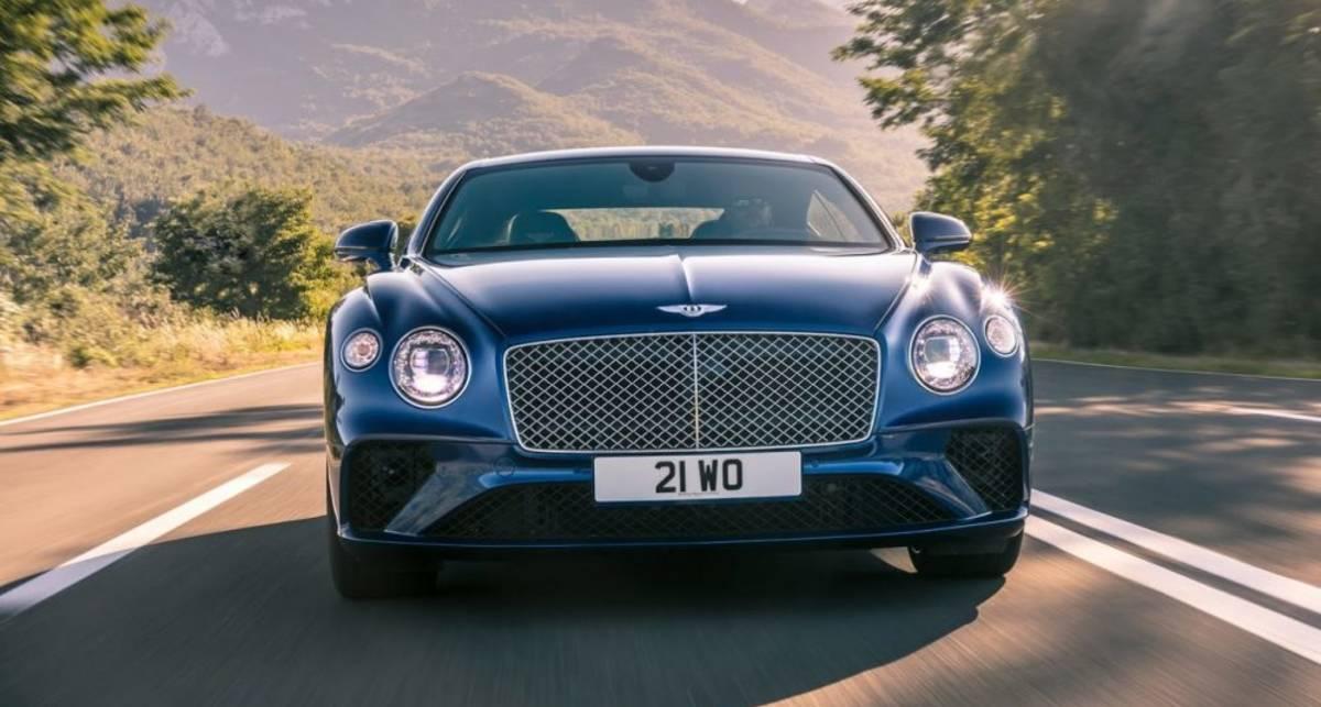 Мечта олигарха: представлен люксовый Bentley Continental GT 2018