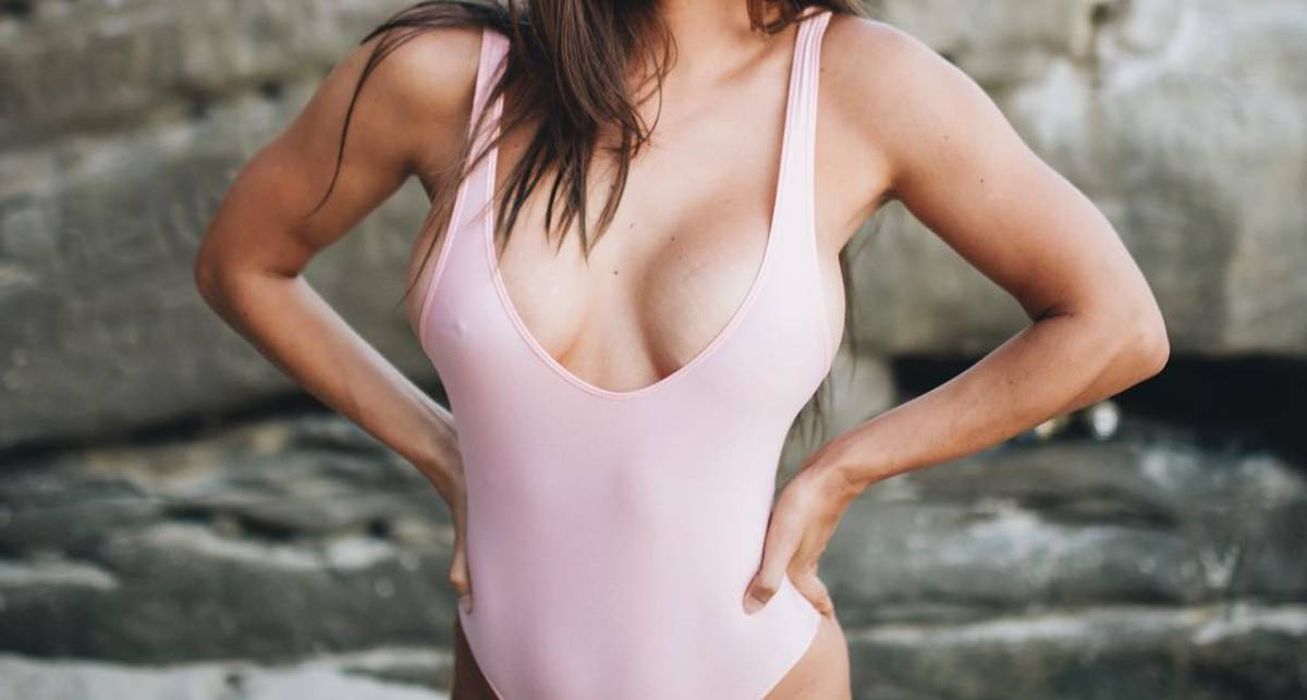 Красотка дня: фитнес-модель Жанна Бреслин