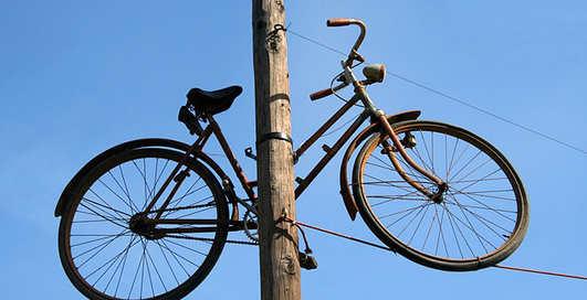 Где хранить велосипед, если скоро зима
