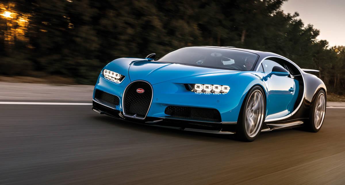 Bugatti Chiron: б/у гиперкар продается на  ?1 млн дороже нового