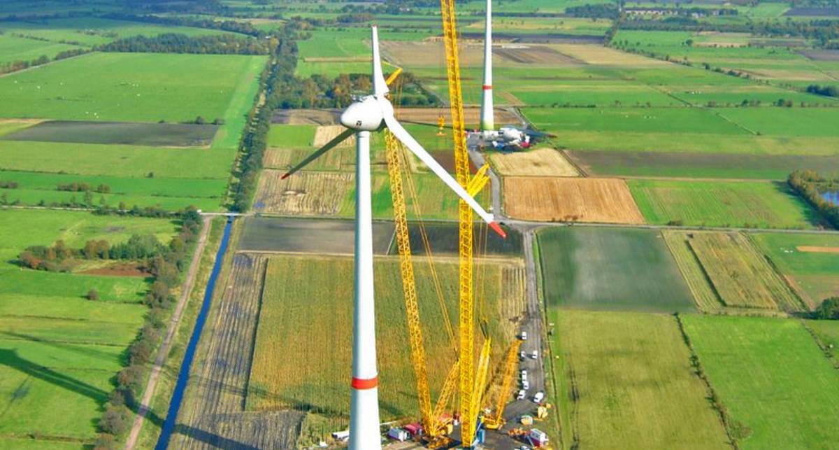 Суперсооружение: как выглядит самый большой ветрогенератор в мире