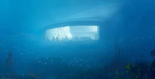 На дне: первый подводный ресторан в Европе