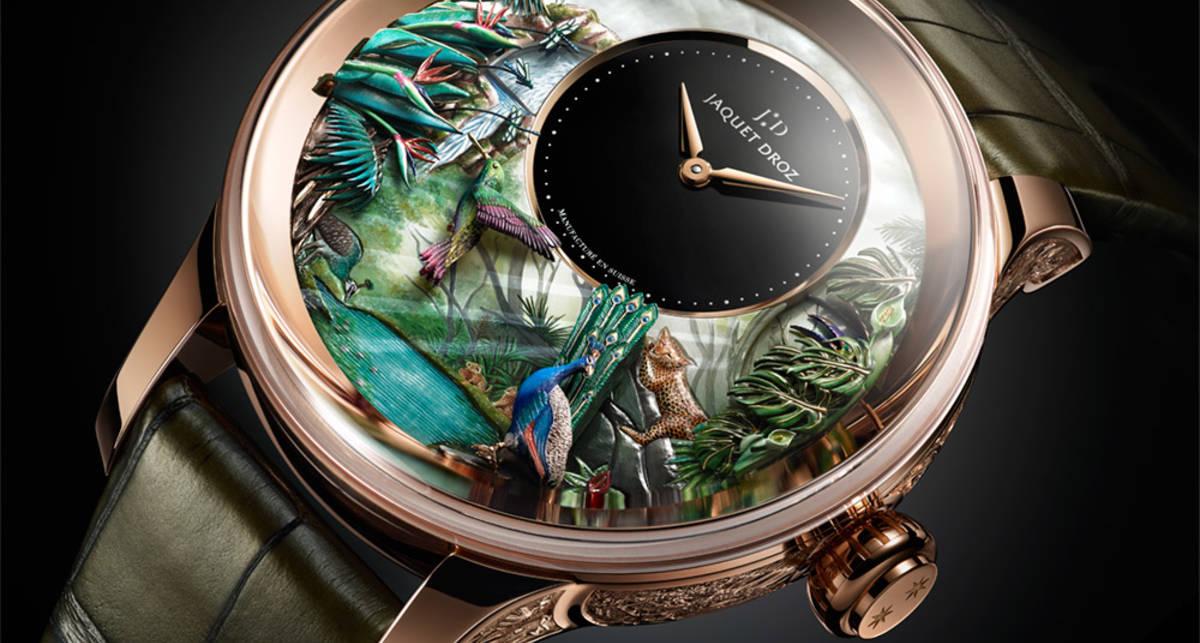 Tropical Bird Repeater: стильные часы для любителей джунглей