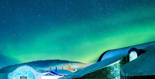 От 0°C и ниже: 4 самых холодных отеля на планете