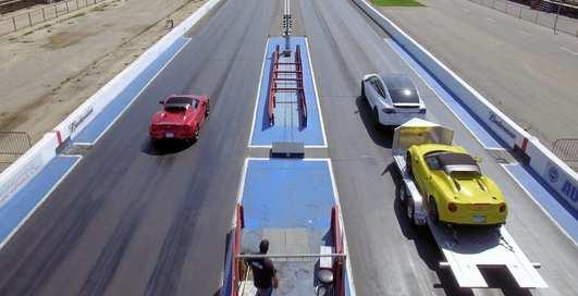 С тонной на борту: груженый Tesla Model X против Alfa Romeo
