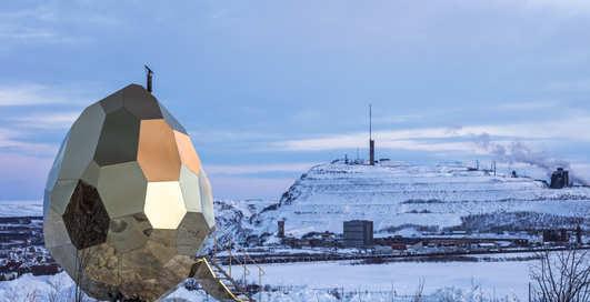 Яйцо с подогревом: фото самой мужской сауны Швеции