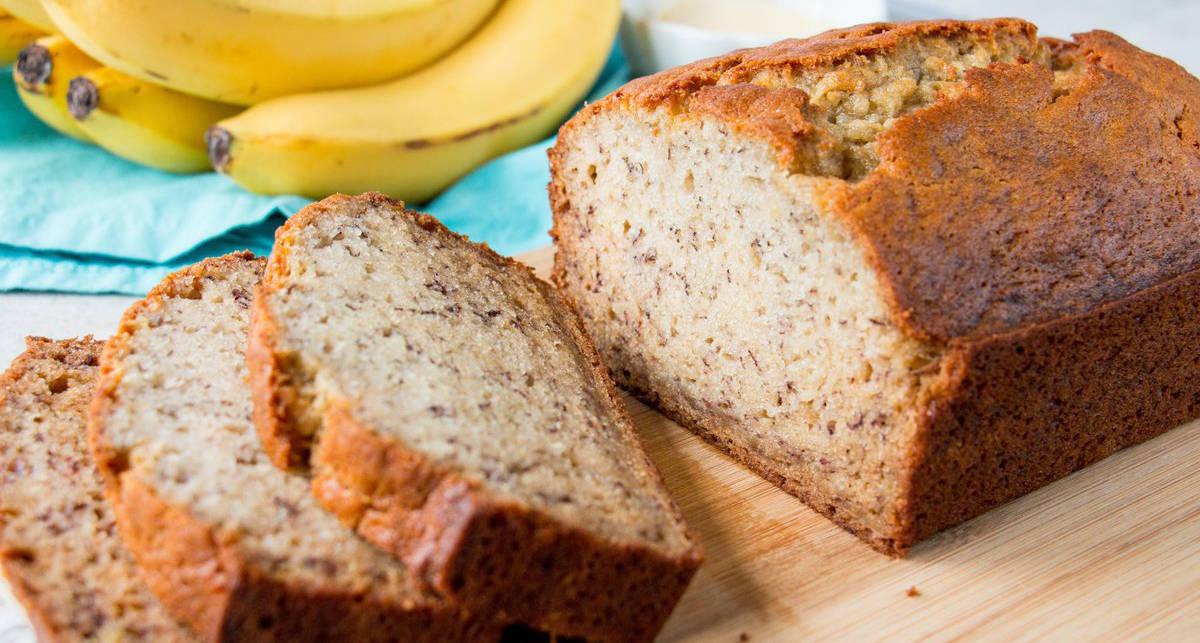 Мужской рецепт: банановый хлебушек из муки и протеина