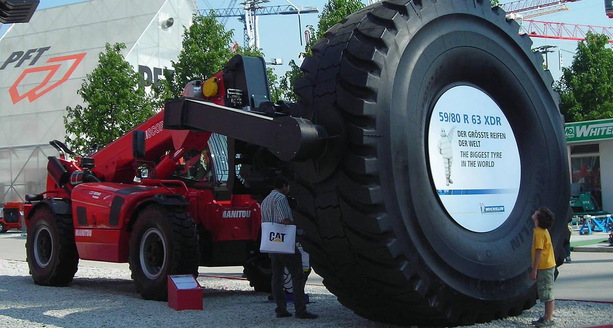 Резина Годзиллы: 7 самых больших шин в мире