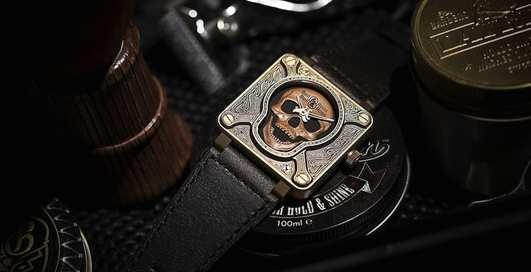 Брутальные наручные часы, которые не стыдно дарить на Новый год 2018