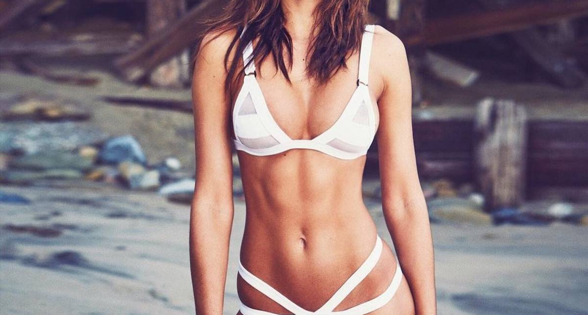 Красотка дня: фитнес-модель Оксана Рыкова
