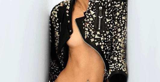 Оливия Бернс: блондинка, украсившая обложку январского Maxim