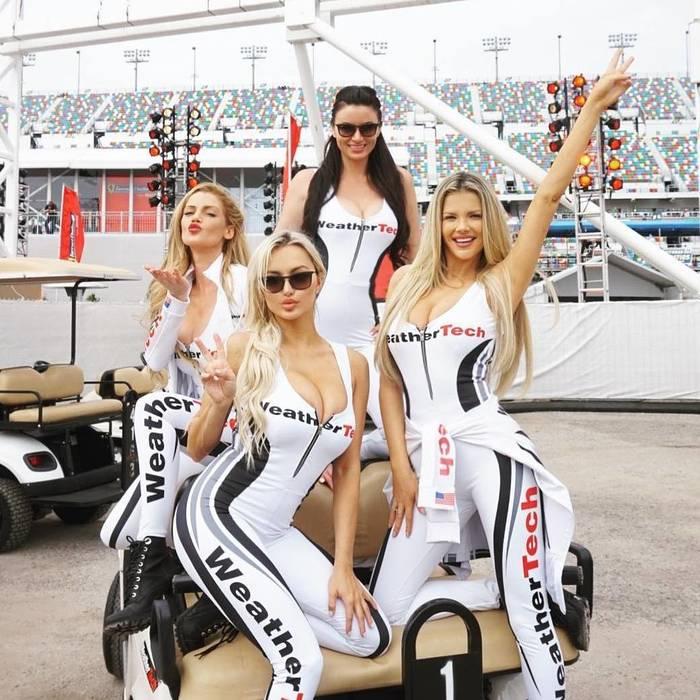 Девушки для работы на гонках история картье