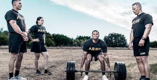 Убойный фитнес-тест, по которому проверяют армейцев США