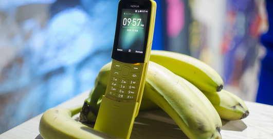 """""""Бананафон"""" — возрождение: в Nokia реинкарнируют телефон из """"Матрицы"""""""