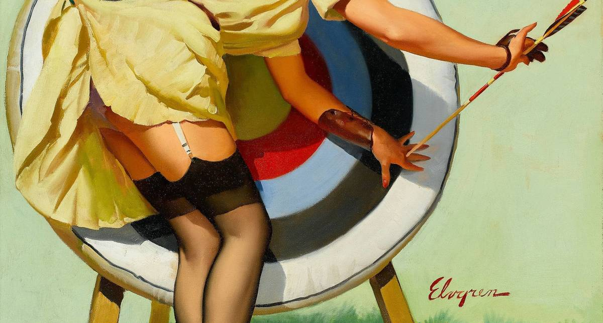 Женские попки в воображении мужчин Европы начала XX века