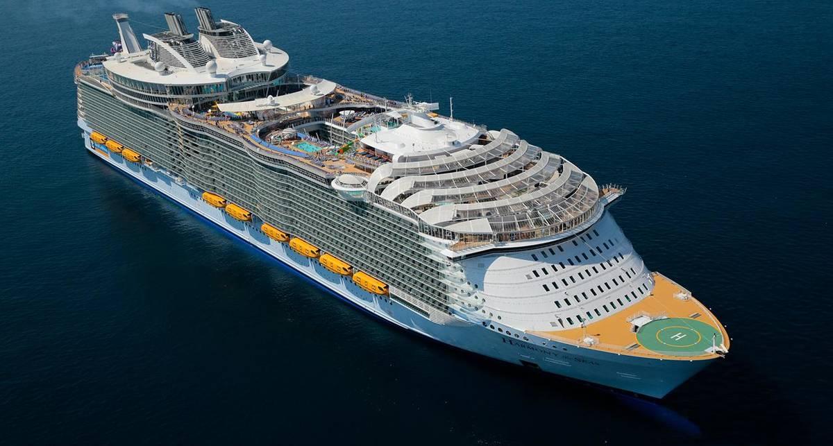 Symphony of the Seas: лайнер, на борт которого влезет вся Троещина