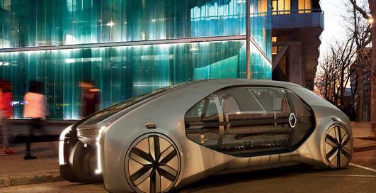 Renault EZ-GO: робот на колесах, который заменит маршрутки и такси