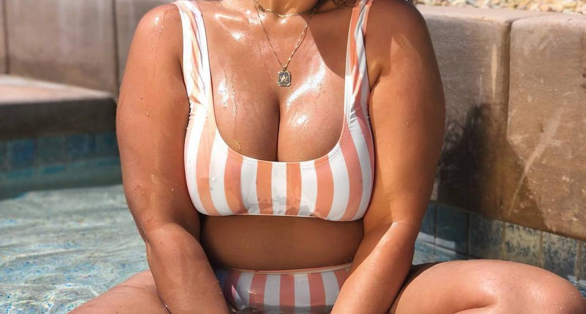 Красотка дня: австралийская модель plus-size Летиция Томас