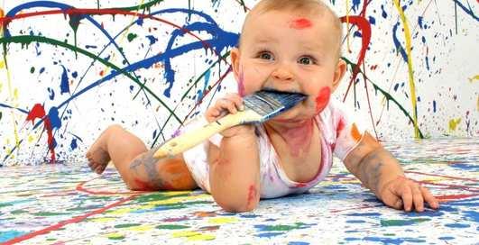 Советы отцам: как сделать эко-краску для детей дома