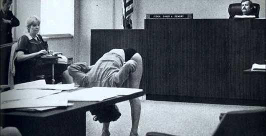 Судья, взгляни на мой зад: 5 ну очень странных ретро-снимков