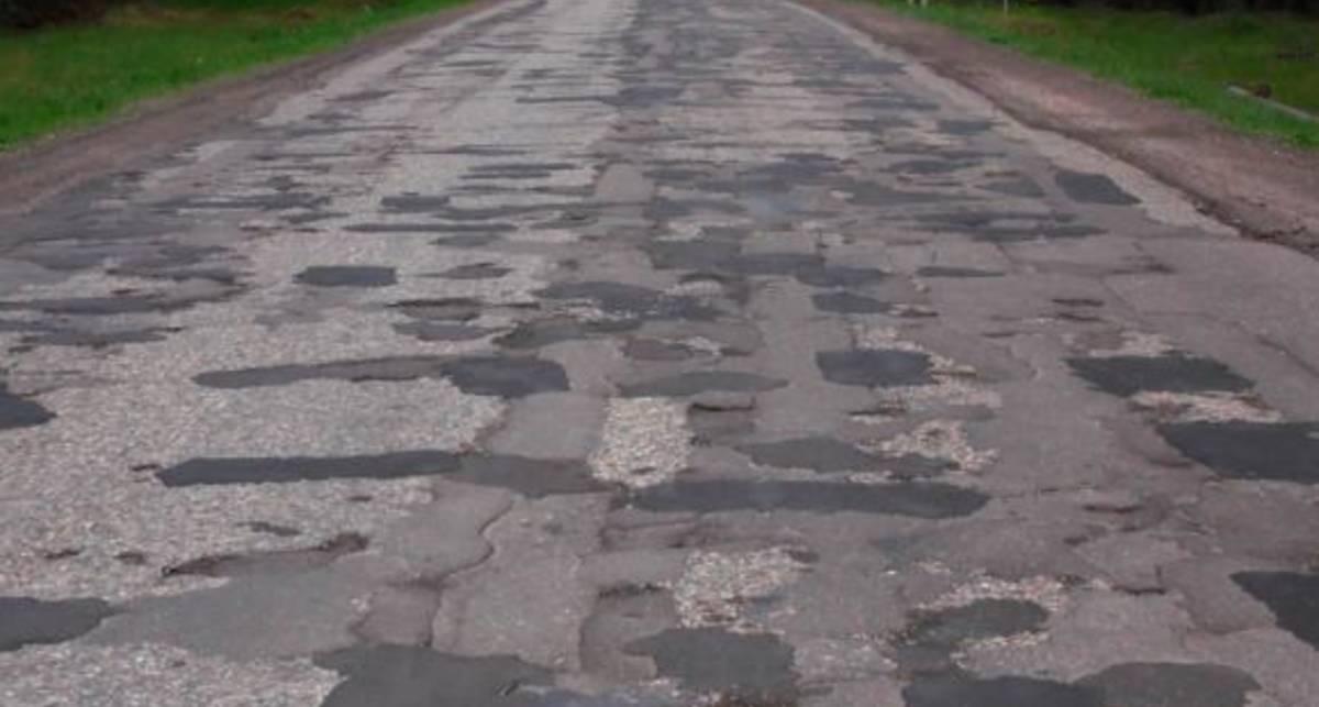 Украинские дороги официально одни из худших в мире