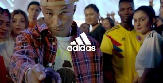 """Adidas представил два """"звездных"""" видео к Чемпионату мира"""