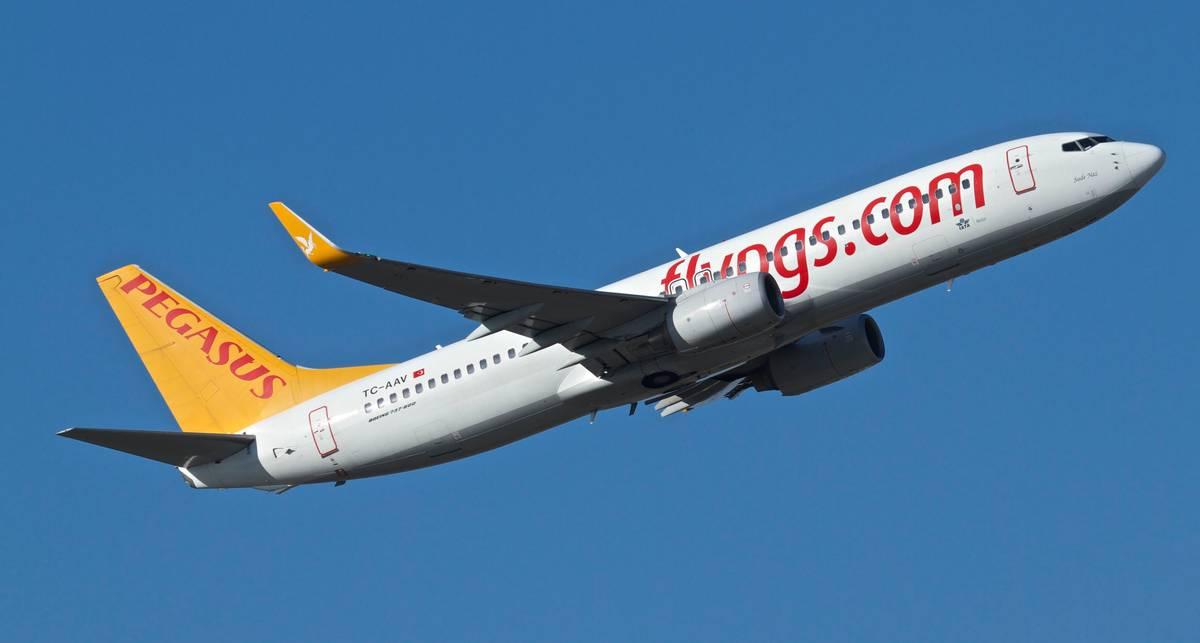 Турецкая Pegasus Airlines запускает новый рейс из Киева