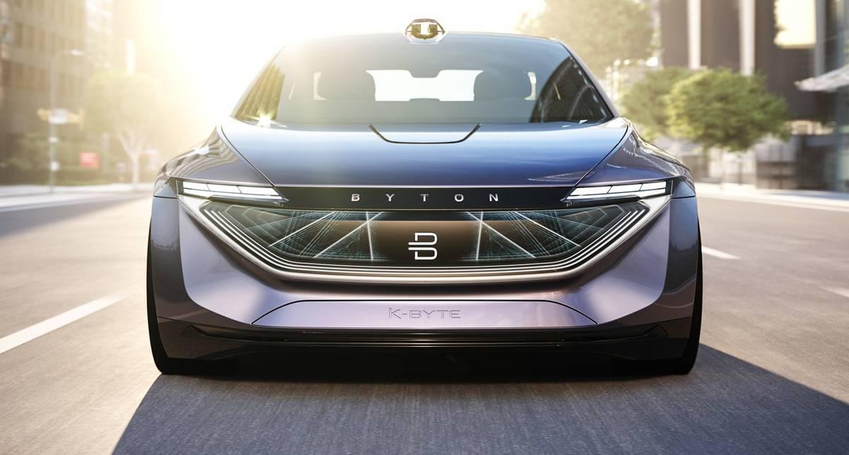Tesla, трепещи: китайцы представили 5-метровый электроседан K-Byte