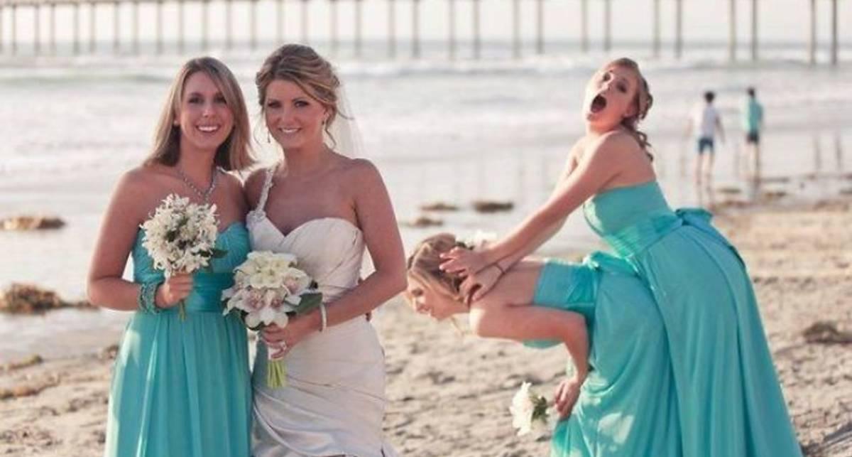 21+ безнадежно испорченных свадебных снимков
