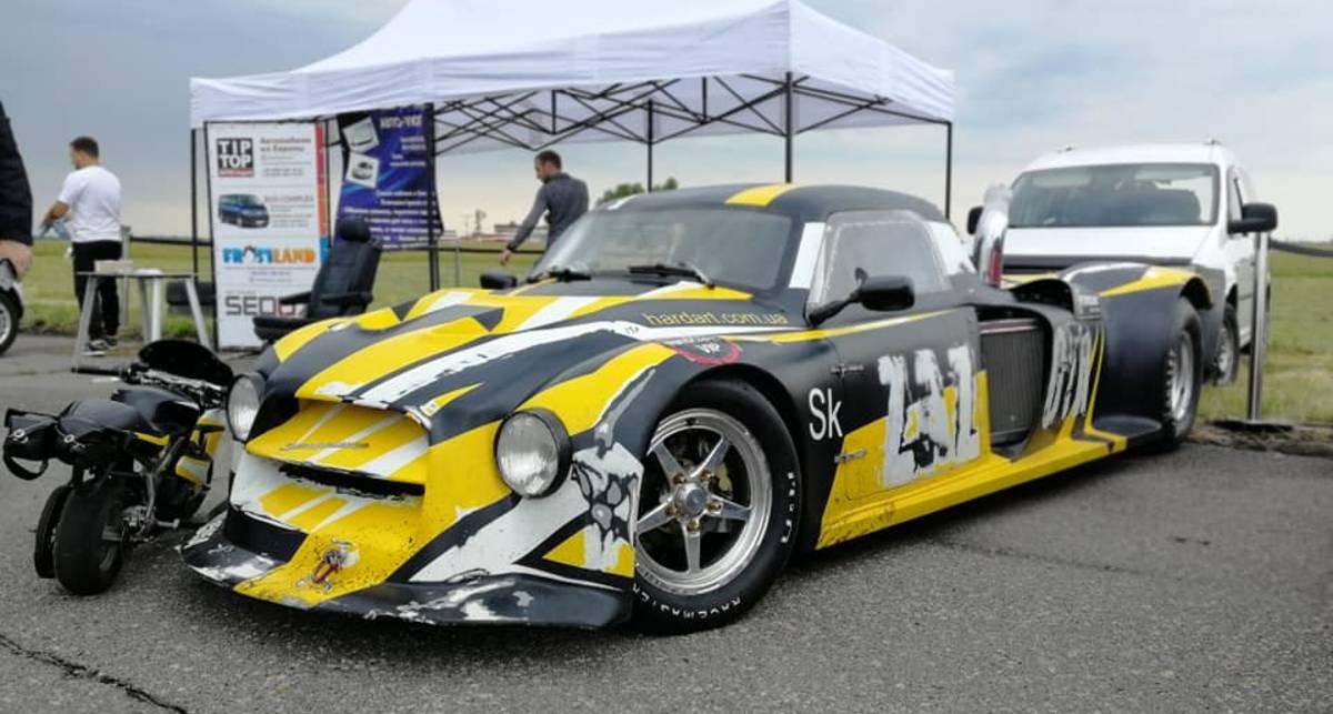 Bugatti отдыхает: в Украине построен 2000-сильный Запорожец