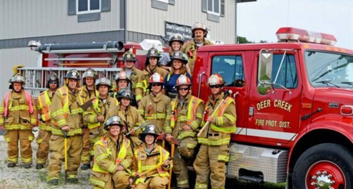 Американские пожарные снимали порно во время работы
