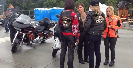 Мотоциклы, рок и дождь: Harley-Davidson отпраздновал 115-летие в Киеве