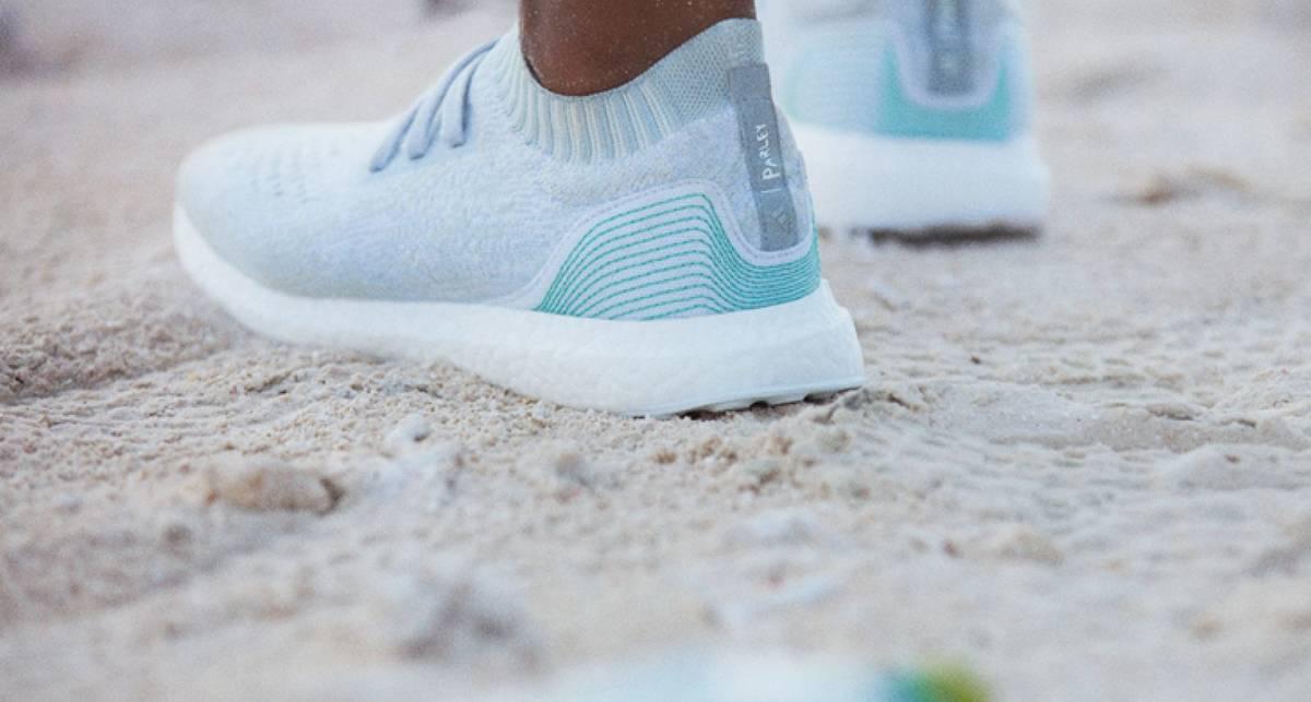 Adidas собирается шить одежду из использованного пластика