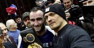 Александр Усик поднялся в рейтинге лучших боксеров мира