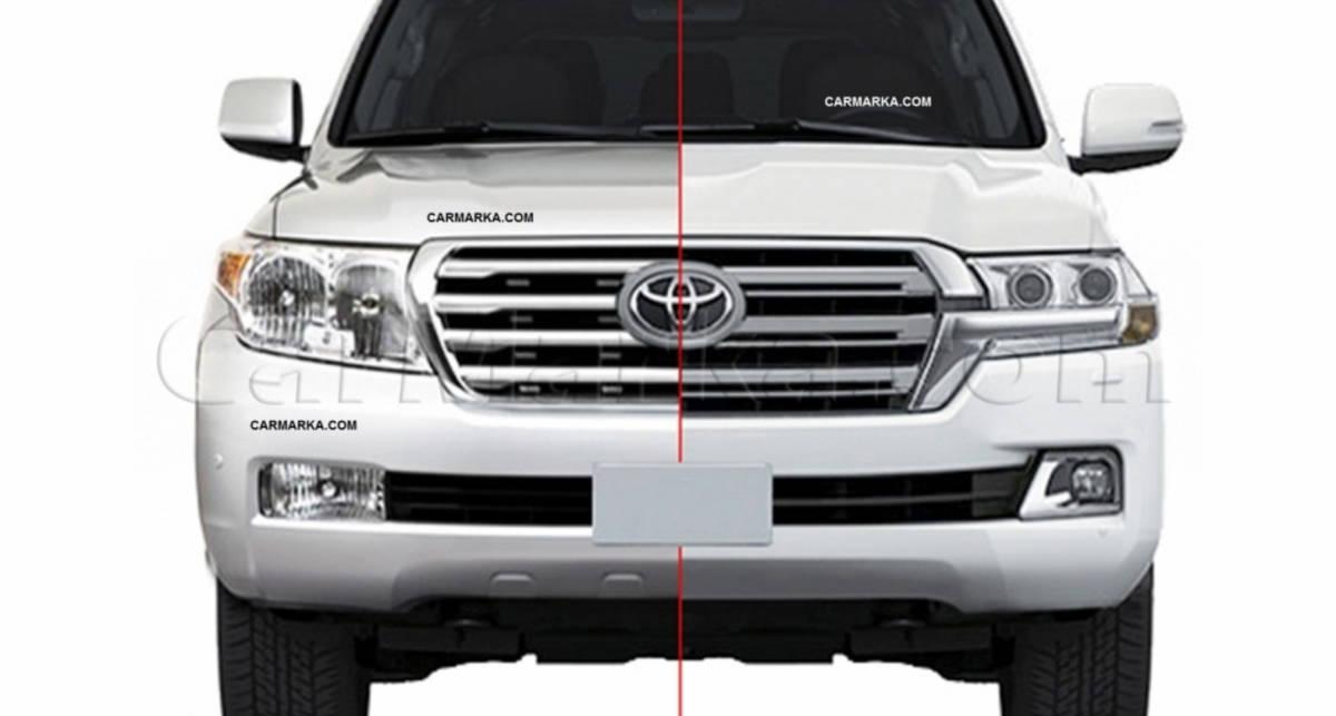 Появились фото Toyota Land Cruiser 200 с измененным дизайном