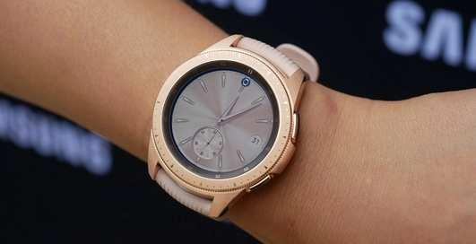 Что известно об умных часах Galaxy Watch от Samsung