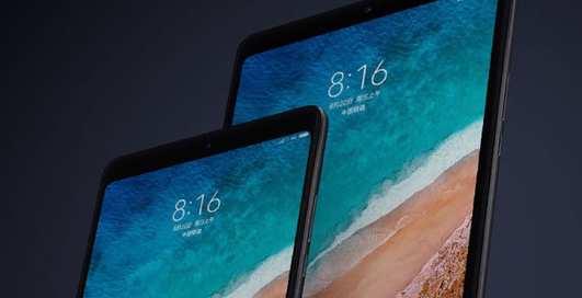 Xiaomi презентовала планшет с большим дисплеем