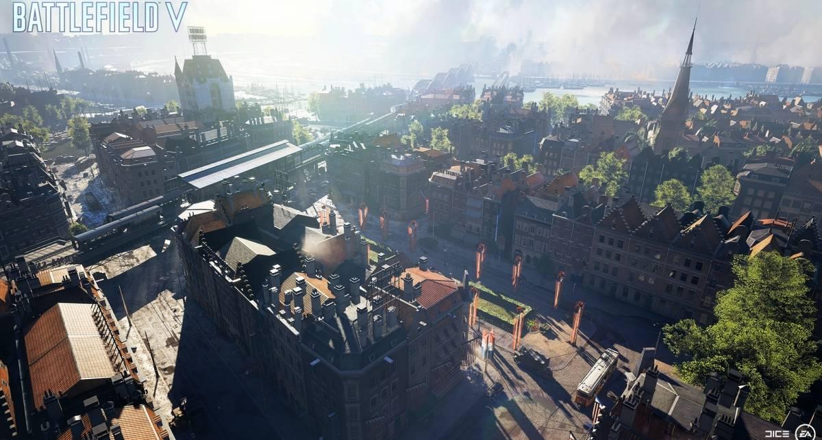 Разрушение Роттердама и королевская битва в новом трейлере Battlefield 5